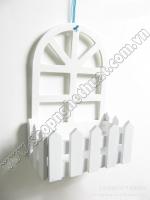 Giỏ treo tường khung cửa sổ