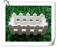 Hàng rào gỗ chữ nhật 16cm
