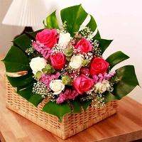 Cắm hoa để bàn 04