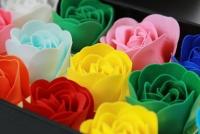 Hoa hồng sáp hương mã HS 04 - 20 màu