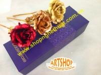 Hoa hồng vàng 24k