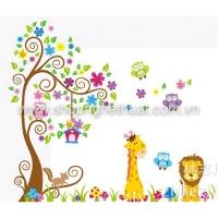 Decal trang trí cho bé-JM7251AB