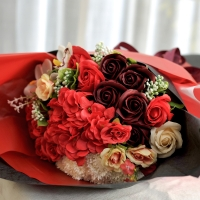 Hoa hồng sáp Hàn Quốc- mã A2-14