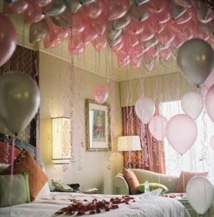 Trang trí phòng cưới CỰC LÃNG MẠN với bong bóng
