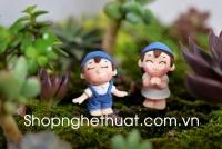 Vợ chồng làm vườn