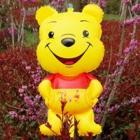 Bóng hình gấu Pooh to