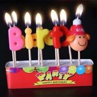 nến sinh nhật-nến hoạ tiết - hình baby