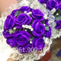 Hoa cầm tay cô dâu - HC015