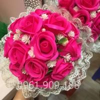 Hoa cầm tay cô dâu - HC016