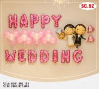 Set bóng trang trí phòng cưới - SC.9Z