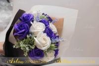 Hoa sáp thành phẩm HS017