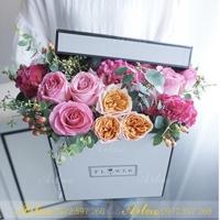 Hộp cắm hoa A002 (22x22x18cm)