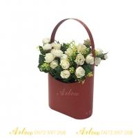 Hộp cắm hoa F013