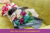 Hoa hồng sáp hàn quốc. Mã HS 105