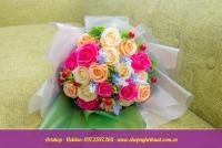 Hoa hồng sáp Hàn Quốc. Mã HS 107
