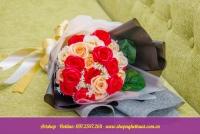 Hoa hồng sáp hàn quốc. Mã HS 108