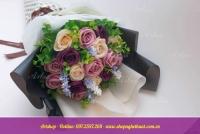 Hoa hồng sáp hàn quốc. Mã HS 109