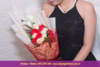 Hoa hồng sáp hàn quốc. Mã HS 112