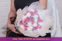 Hoa hồng sáp Hàn Quốc. Mã HS 113