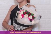 Hoa hồng sáp Hàn Quốc. Mã HS 118