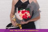 Hoa hồng sáp Hàn Quốc. Mã HS 119