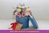 Hộp hoa sáp Hàn Quốc. Mã HSH 30