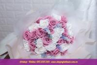 Hoa hồng sáp Hàn Quốc. Mã HS 121