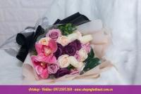 Hoa hồng sáp Hàn Quốc. HS 122
