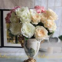 Cụm hoa hồng 7 bông (10-13cm) HL014