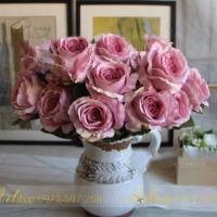 Cụm hoa hồng 7 bông (10cm) HL015