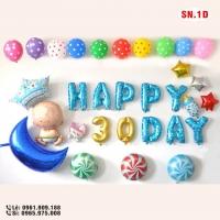 Set bóng trang trí sinh nhật - SN.1D