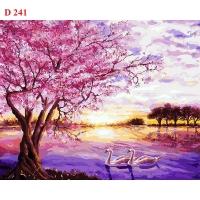 Tranh sơn dầu số hóa mã - D241