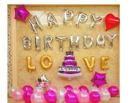 Set bóng trang trí sinh nhật - SN.44H