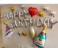 Set bóng trang trí sinh nhật - SN.44F