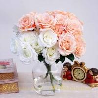Cụm hồng 12 bông HL034