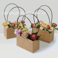 Túi giấy cắm hoa CN