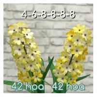 Nguyên liệu làm hoa dạ lan hương 2 cành