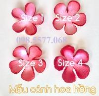Cánh hoa 5 cánh lớn số 1,2 (bịch 20 cái)