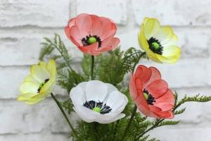 Các loại hoa giấy 3D đẹp, dễ làm dùng trong trang trí