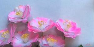 """Hướng dẫn làm hoa đào 3D """"cực hot"""" làm quà tặng Tết cực ý nghĩa"""