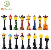 Cột đèn vàng