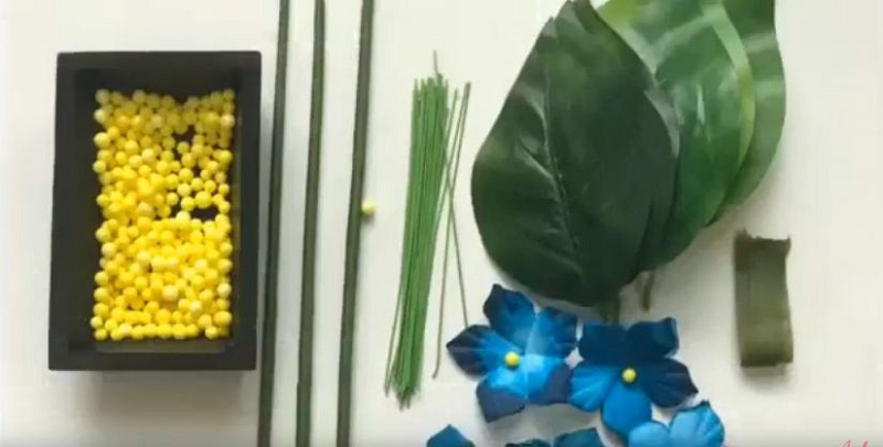 Bộ nguyên liệu làm hoa cẩm tú cầu