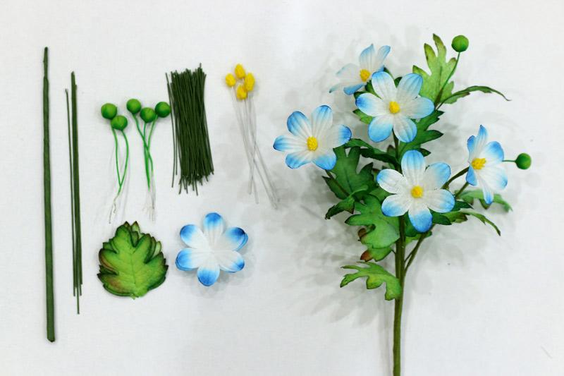 Bộ nguyên liệu làm hoa cúc