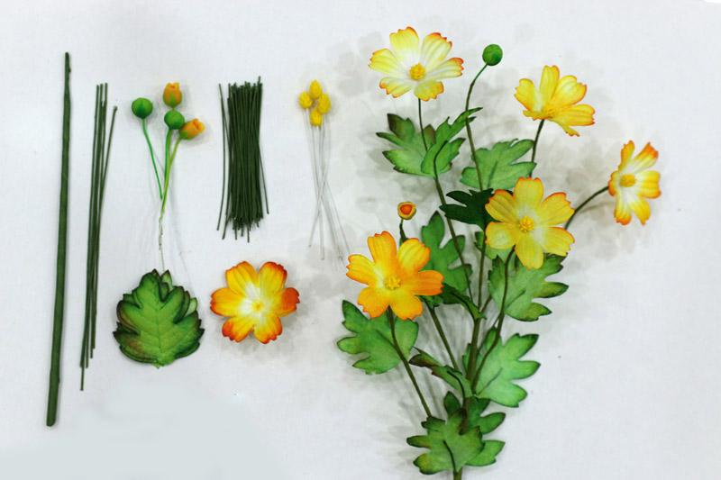 Bộ nguyên liệu làm hoa sao nháy