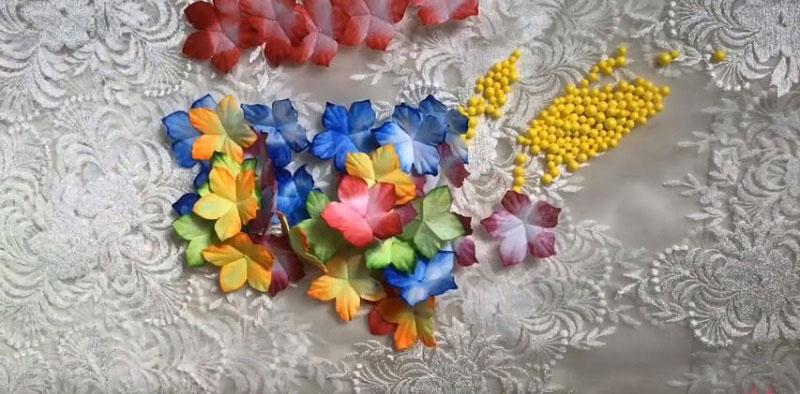 Nguyên liệu làm hoa giấy lụa 3D