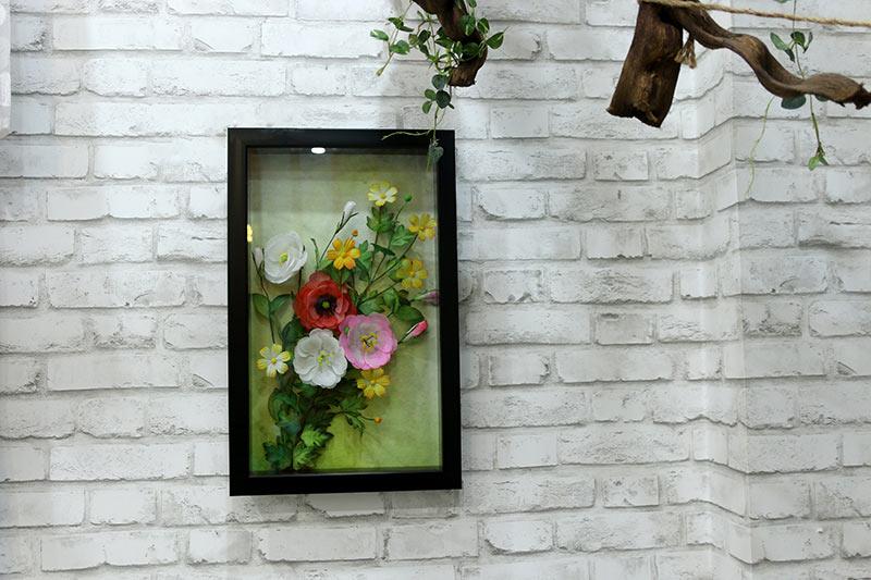 Tranh hoa sao nháy 3D