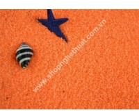 Cát Màu Trang Trí có ánh kim - màu Cam