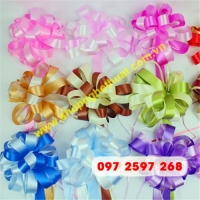 Ruy băng hoa sáp (3cm x 110cm)