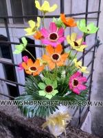 Hoa sao nháy pha lê