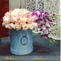 Hộp cắm hoa A003 (bộ 3 cỡ)